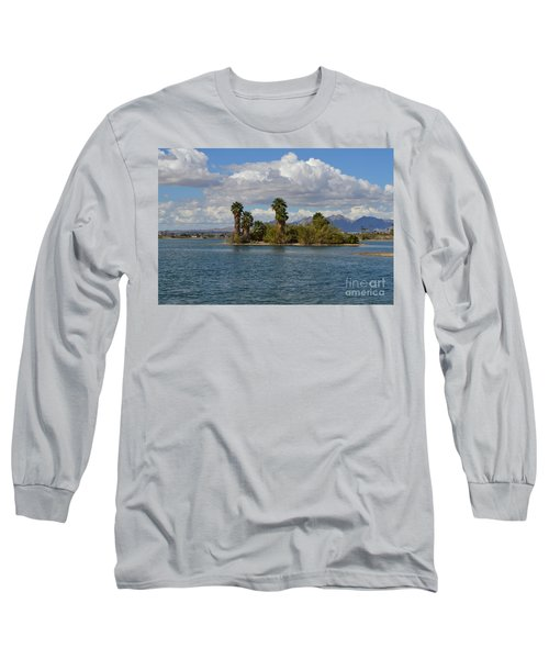 Marooned Palms Long Sleeve T-Shirt