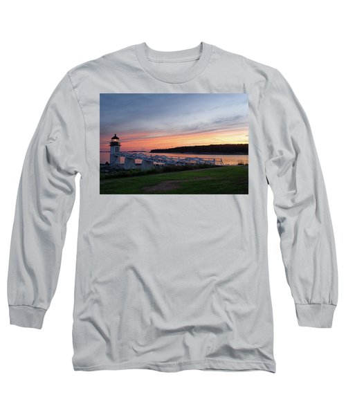 Long Sleeve T-Shirt featuring the photograph Marshall Point Lighthouse, Port Clyde, Maine -87444 by John Bald