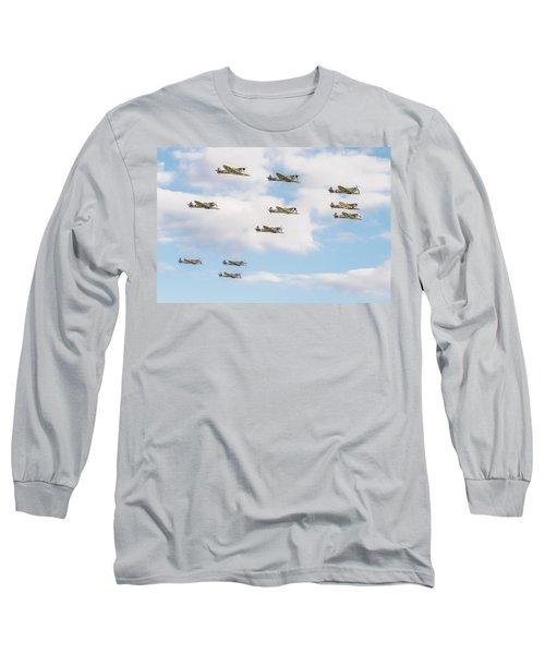 Massed Spitfires Long Sleeve T-Shirt