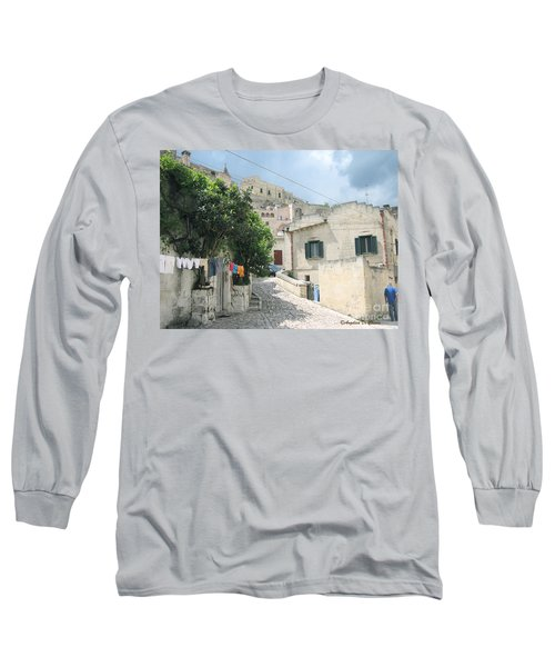 Matera's Colorful Laundry Long Sleeve T-Shirt