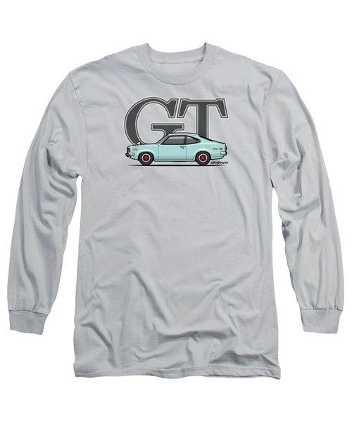 Mazda Savanna Gt Rx-3 Baby Blue Long Sleeve T-Shirt