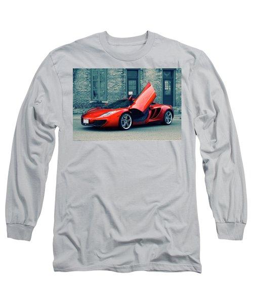 Mclaren Mp4-12c Long Sleeve T-Shirt