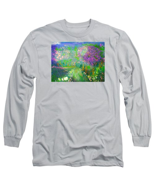 Meadow Trail By Colleen Ranney Long Sleeve T-Shirt