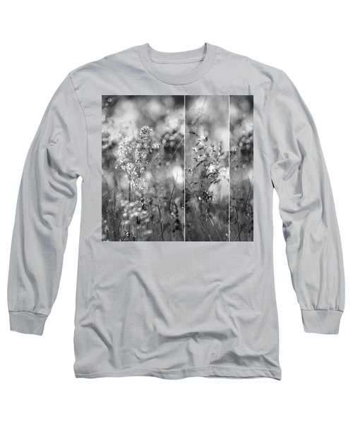 Meadowgrasses Long Sleeve T-Shirt by Linde Townsend