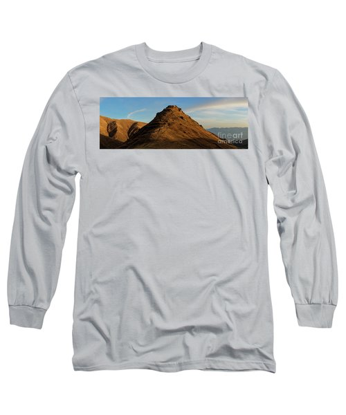 Medieval Proshaberd Fortress On The Top Of The Hill, Armenia Long Sleeve T-Shirt by Gurgen Bakhshetsyan