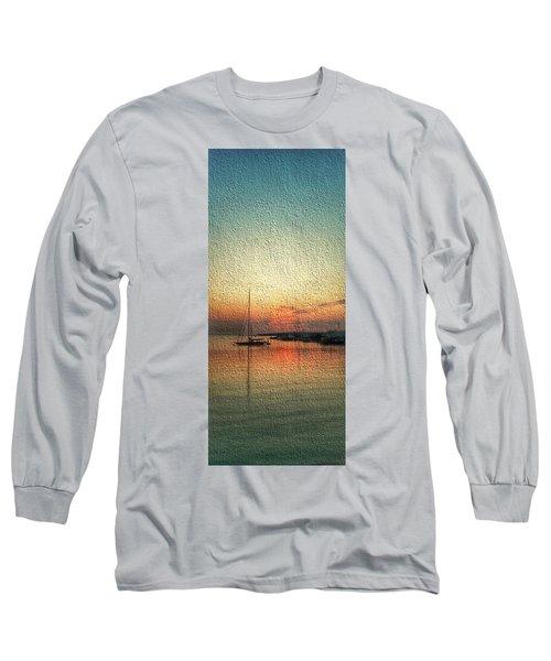 Melting Suneset  Long Sleeve T-Shirt