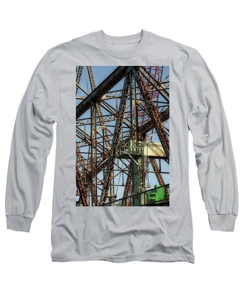 Memorial Bridge Long Sleeve T-Shirt