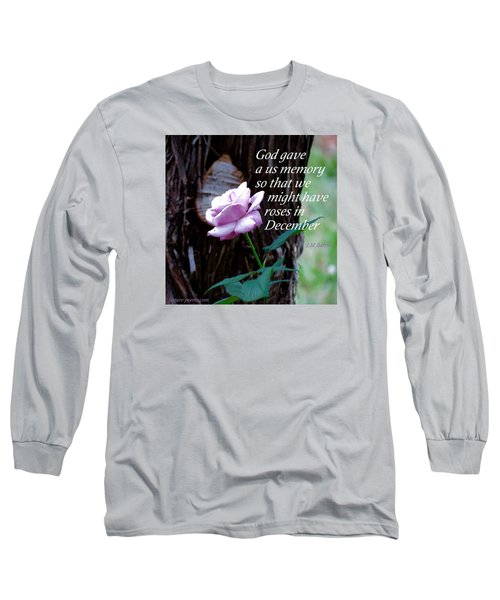 Long Sleeve T-Shirt featuring the photograph Memories Throughout  by David Norman