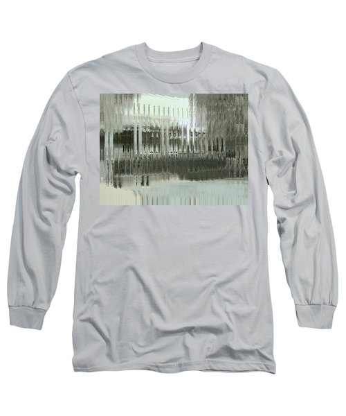 Long Sleeve T-Shirt featuring the digital art Memory Palace - Fading by Wendy J St Christopher