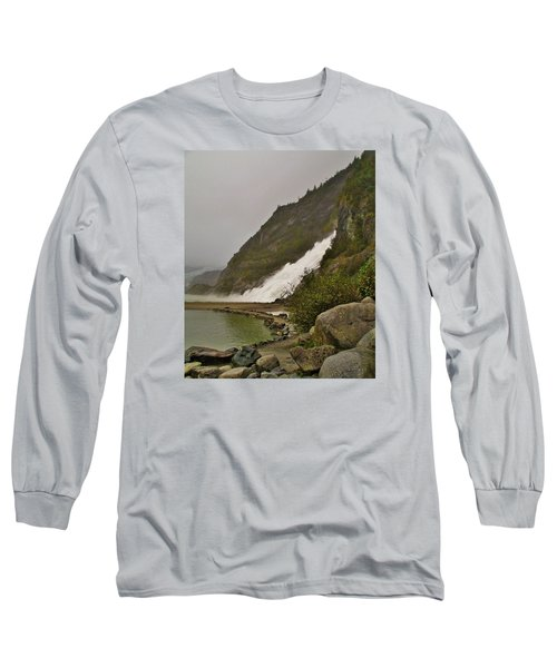 Mendenhall Glacier Park Long Sleeve T-Shirt by Martin Cline