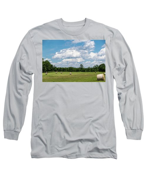 Mercer County Landscape Long Sleeve T-Shirt