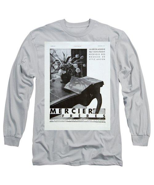 Mercier #8699 Long Sleeve T-Shirt