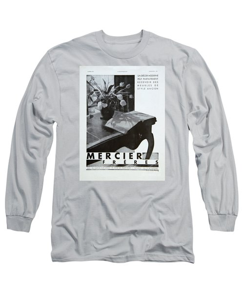 Mercier #8699 Long Sleeve T-Shirt