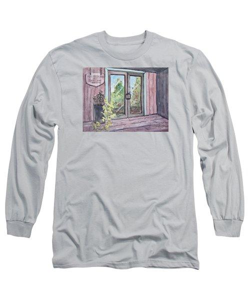 Mercier Orchard's Hard Cider Long Sleeve T-Shirt by Gretchen Allen