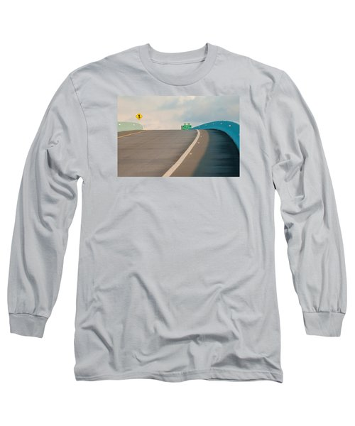 Merge To The Clouds Long Sleeve T-Shirt