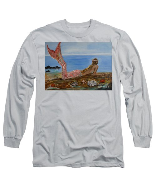 Mermaid Beauty Long Sleeve T-Shirt