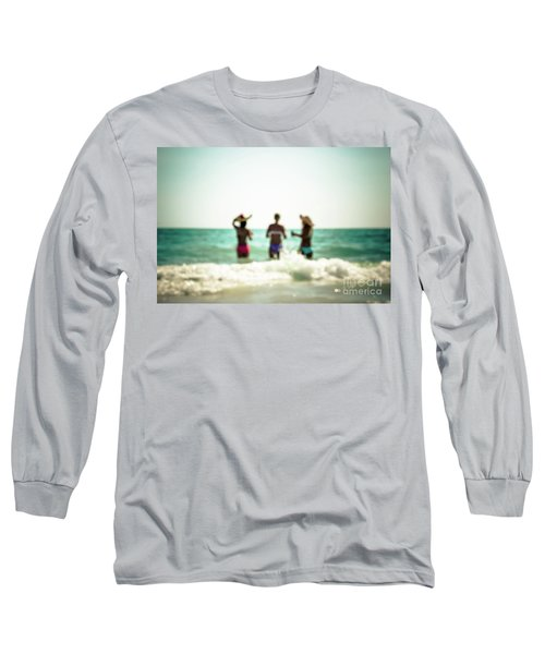 Long Sleeve T-Shirt featuring the photograph Mermaids by Hannes Cmarits