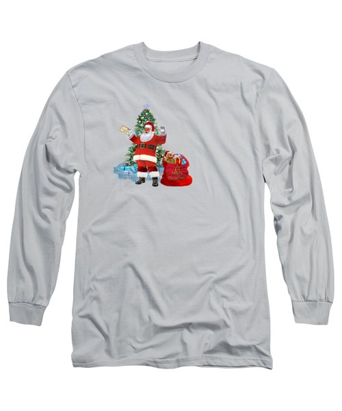 Merry Christmas From Santa Long Sleeve T-Shirt