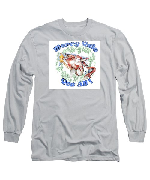 Real Fake News Merry Yule You All Long Sleeve T-Shirt