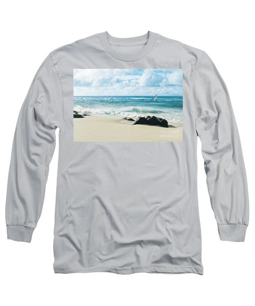 Long Sleeve T-Shirt featuring the photograph Messengers Of Light by Sharon Mau
