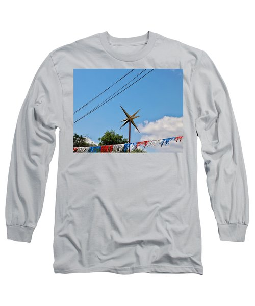 Metal Star In The Sky Long Sleeve T-Shirt