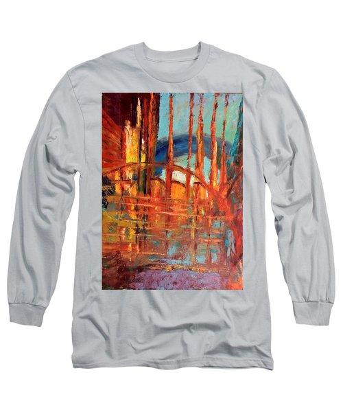 Metropolis In Space Long Sleeve T-Shirt