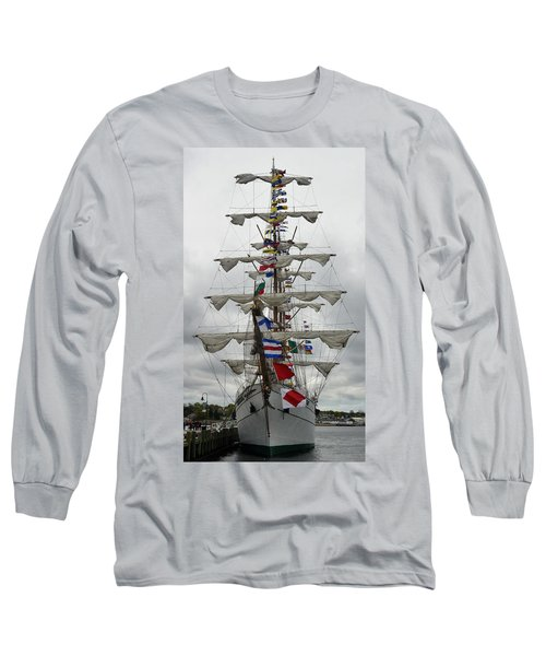Mexican Navy Ship Long Sleeve T-Shirt