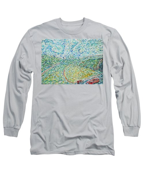 Midday Steam Long Sleeve T-Shirt by Anna Yurasovsky