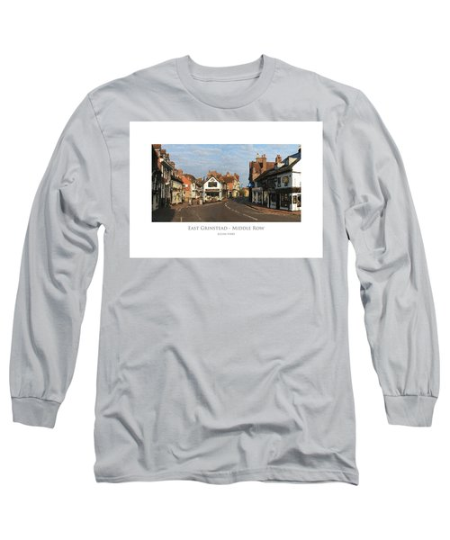 Middle Row East Grinstead Long Sleeve T-Shirt