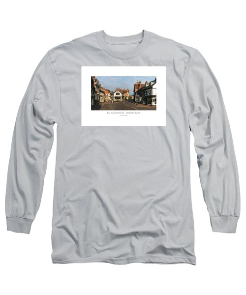 Middle Row East Grinstead Long Sleeve T-Shirt