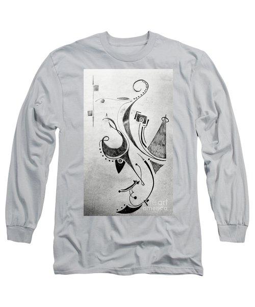 Midnight Study 1 Long Sleeve T-Shirt