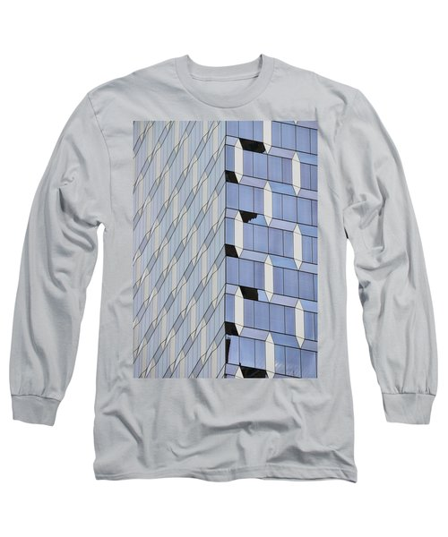 Midtown Architecture  Long Sleeve T-Shirt by Sandy Taylor