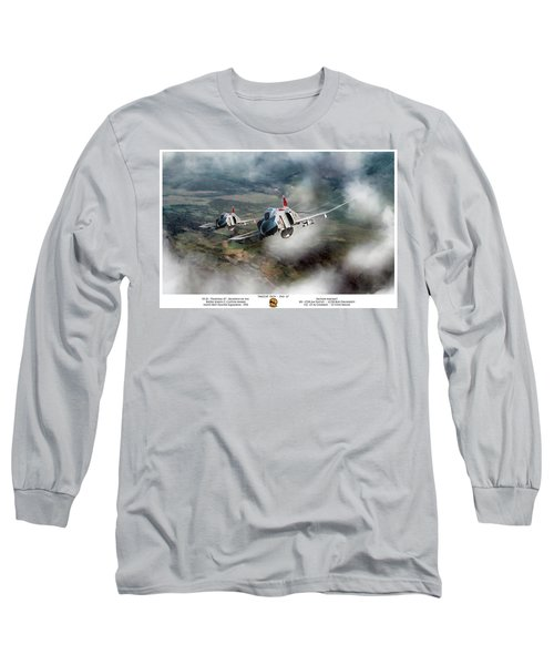 Long Sleeve T-Shirt featuring the digital art Migcap Duty - Phu Ly by Peter Chilelli