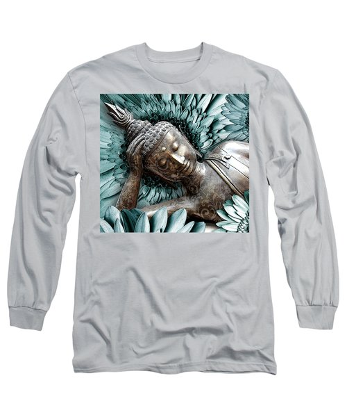 Mind Bloom Long Sleeve T-Shirt by Christopher Beikmann