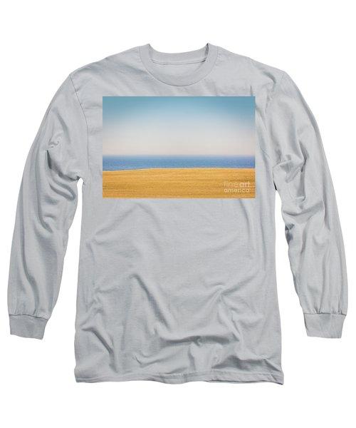 Minimal Lake Ontario Long Sleeve T-Shirt