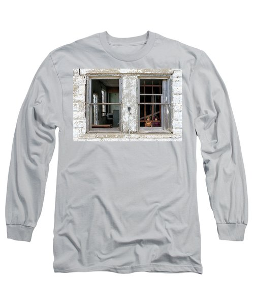 Long Sleeve T-Shirt featuring the photograph Minimum Security by Christopher McKenzie