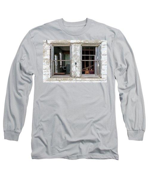 Minimum Security Long Sleeve T-Shirt by Christopher McKenzie