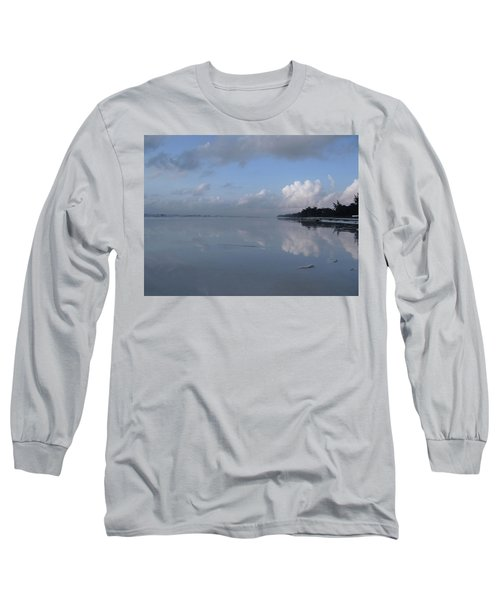 Mirror Ocean Water Long Sleeve T-Shirt