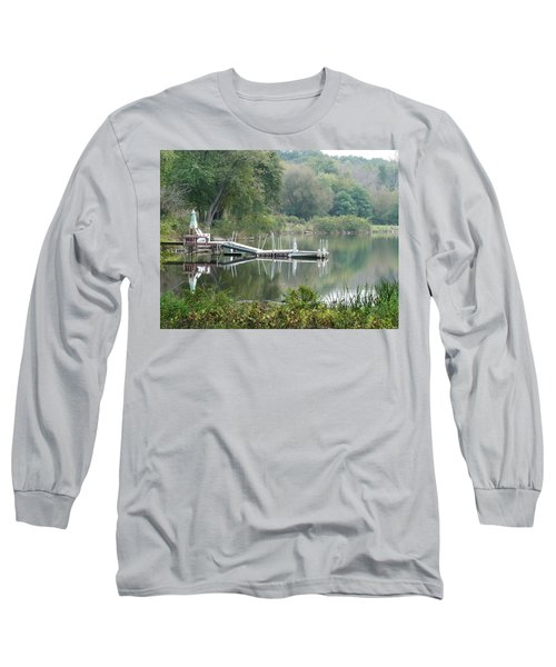 Mirrored Pier Long Sleeve T-Shirt