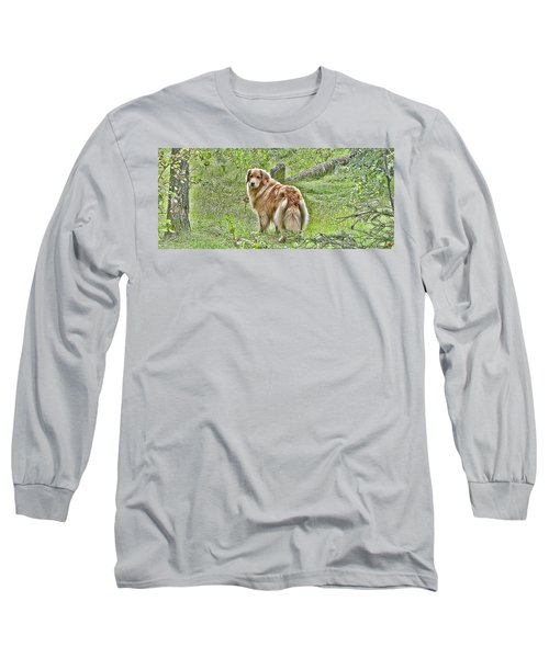 Long Sleeve T-Shirt featuring the photograph Miss B by Rhonda McDougall