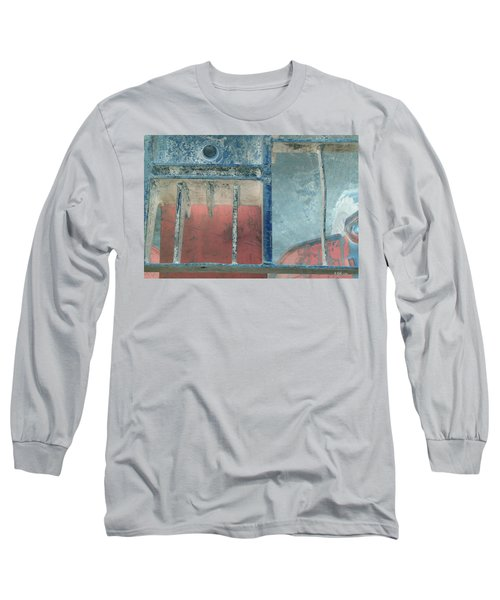 Missing Middle Bar Left Flipped Horizontal Long Sleeve T-Shirt