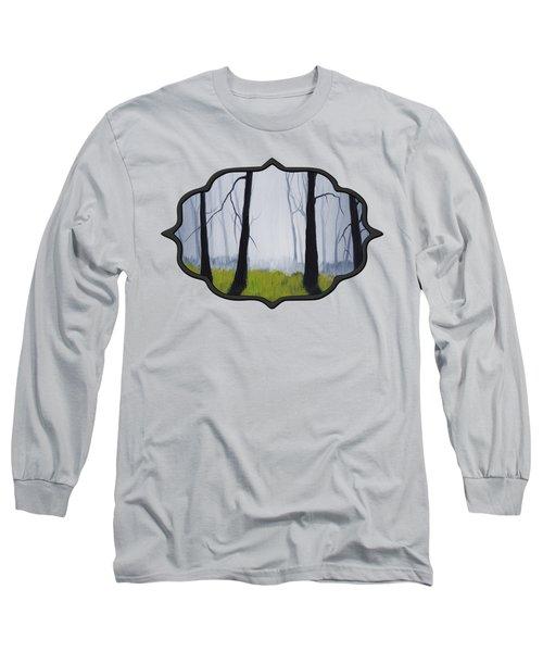 Misty Forest Long Sleeve T-Shirt by Anastasiya Malakhova