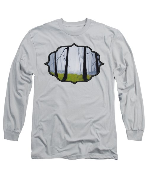 Misty Forest Long Sleeve T-Shirt