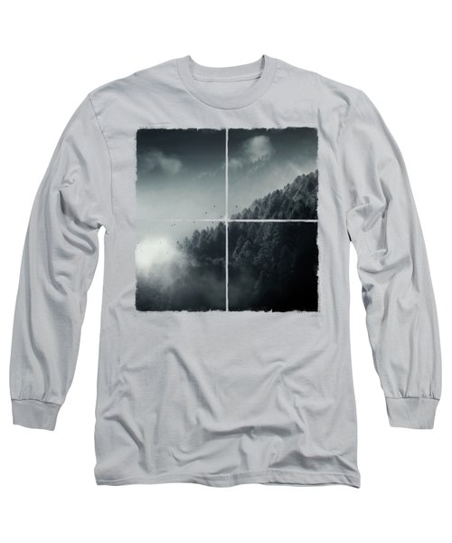 Misty Woodlands Long Sleeve T-Shirt