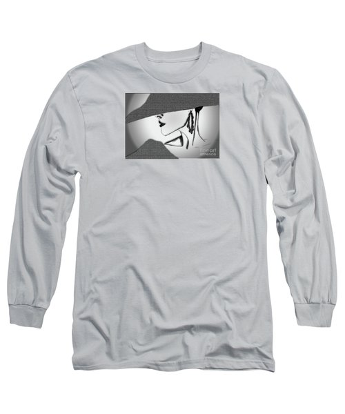 Mom #20 Long Sleeve T-Shirt by Iris Gelbart