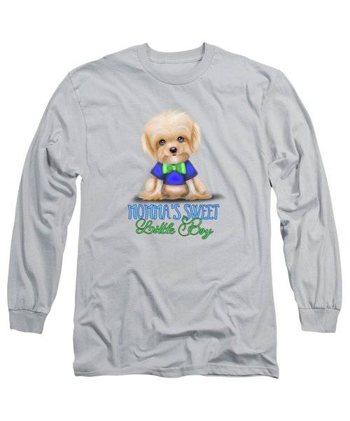 Mommas Sweet Little Boy Long Sleeve T-Shirt