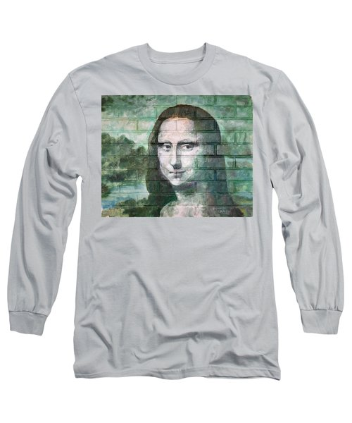 Mona Lisa  Long Sleeve T-Shirt by Stan Tenney
