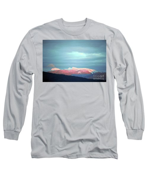 Monashee Sunset Long Sleeve T-Shirt by Victor K