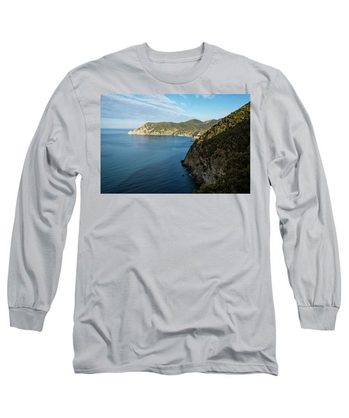 Monterosso And The Cinque Terre Coast Long Sleeve T-Shirt