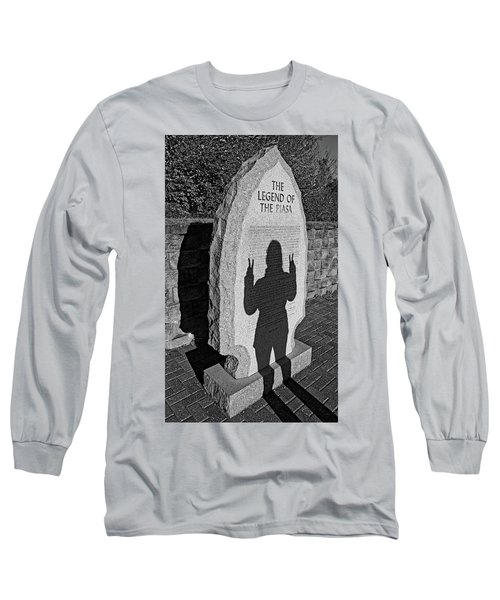 Monumental Shadows Peace Out Long Sleeve T-Shirt
